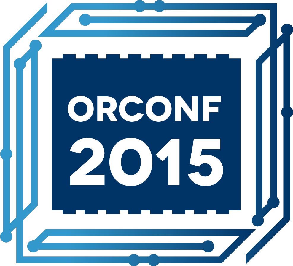 ORCONF 2015